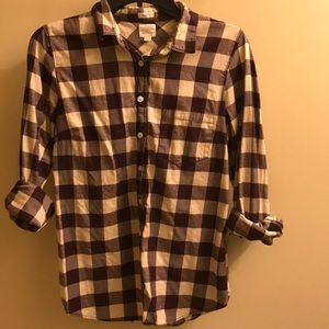 J. Crew perfect Fit fall flannel